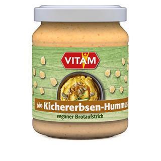 Aufstrich Kichererbsen Hummus