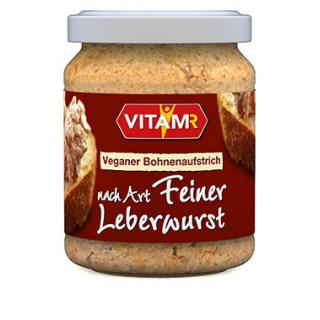 Wie feine Leberwurst Vegan