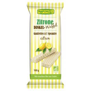 Dinkel-Waffeln Zitrone