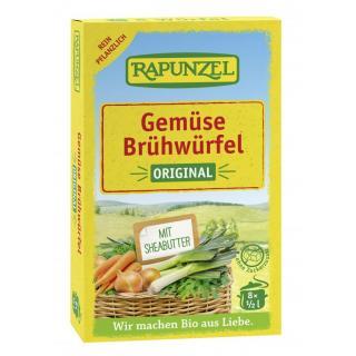 Gemüse-Brühwürfel Original, mit Bio-Hefe
