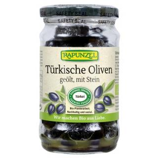 Oliven schwarz, mit Stein geölt