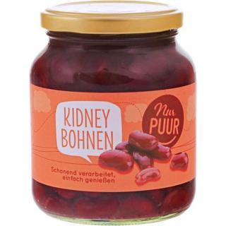 Kidney Bohnen im Glas